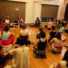 mantras and sacred Songs in Chiang Mai.j