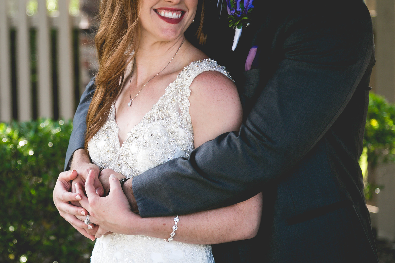 Bride-groom-embrace