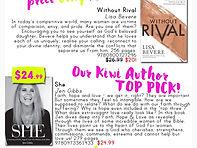 Manna Top Pick | SHE | Jen Gibbs Author
