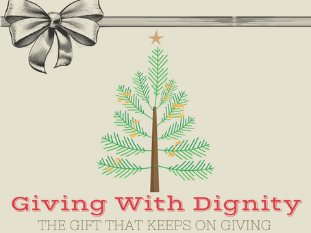 Giving With Dignity