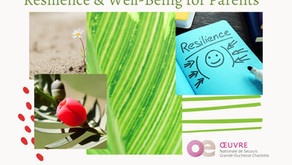 Resilience and well-being for parents