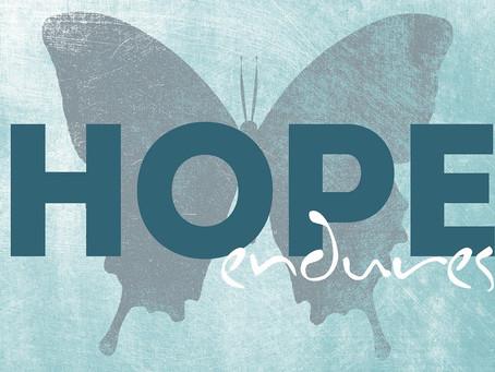 L'espoir : un allié pour traverser cette crise du Covid-19 !