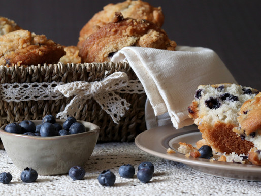 Food Photography: Before & After (Cookies, Muffins, & Tortes-OH MY!)