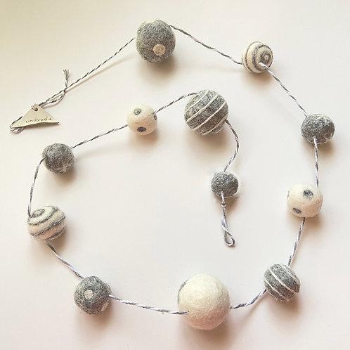 フェルトボール玉 ひも飾り クリスマス