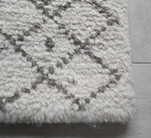 syaggy  白アーガイル小 70×70cm
