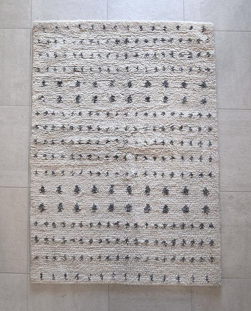 syaggy  白ドット 140×100cm