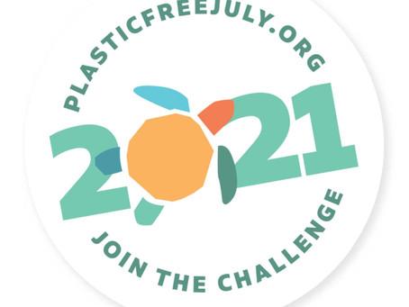 Plastic Free July® / プラスチック消費を意識しましょう