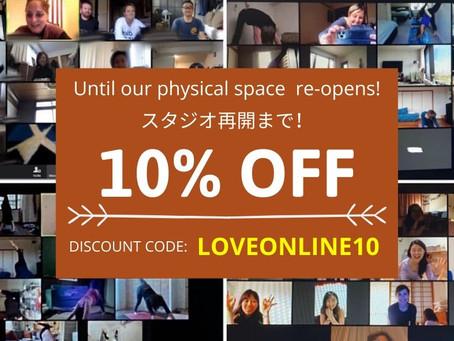 10% Discount! クラスカードのディスカウント
