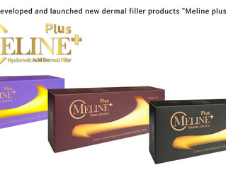 """DEVELOPED AND LAUNCHED NEW DERMAL FILLER PRODUCTS """"MELINE PLUS"""""""