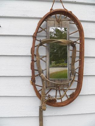Military Snowshoe Mirror