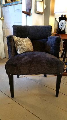W. H. Gunlocke chair re-upholstered.