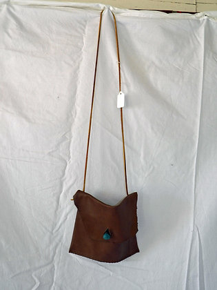 Handmade Leather Bag - lrg