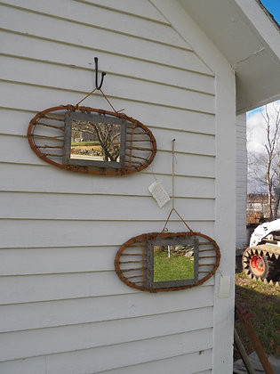 Military Snowshoes Mirrors