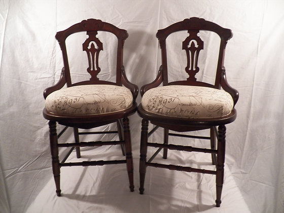 Eastlake Dining Room Chairs Sold as a Pair