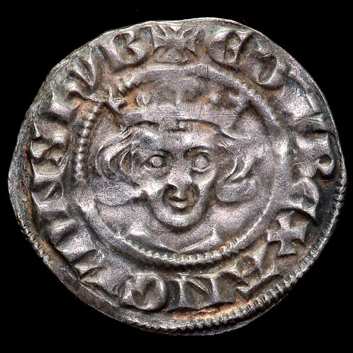 Edward I, 1272-1307. Penny, London mint. New Coinage From 1279. Class 1c.