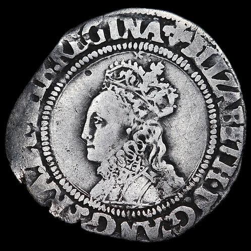 Elizabeth I, 1558-1603. Groat. Second Issue, mm. Cross Crosslett, 1560-61.