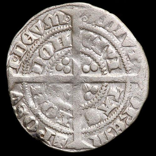 Edward III, 1327-77. Halfgroat. Pre-Treaty Period, 1351-61. London Mint.