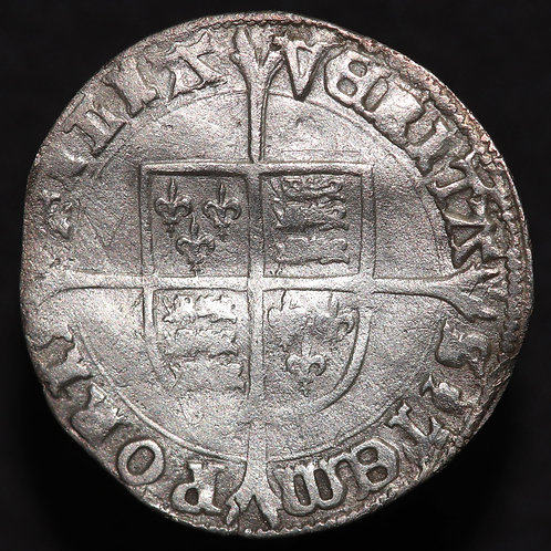 Mary, 1553-58 (Ruling solely 1553-54). Groat. Tower Mint, mm. Pomegranate.