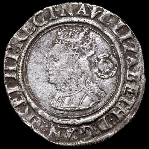 Elizabeth I, 1558-1603. Sixpence, 1562, mm. Pheon. Third / Fourth Issue.