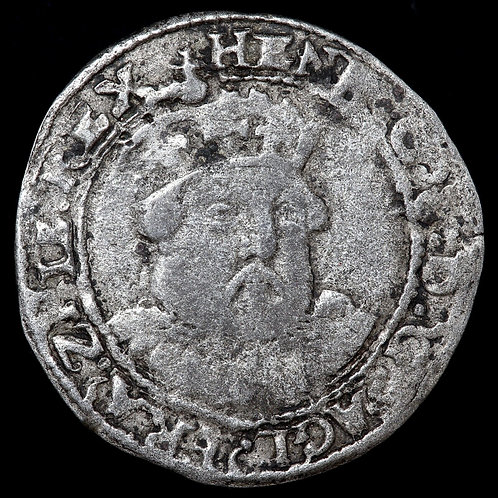 Edward VI In The Name Of Henry VIII, 1547-51. Groat, mm. Grapple, 1549.