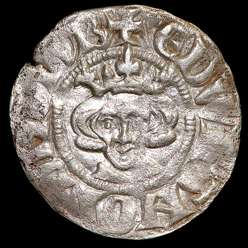 Edward I, 1272-1307. Penny. Long Cross Type. New Coinage from 1279. London Mint.