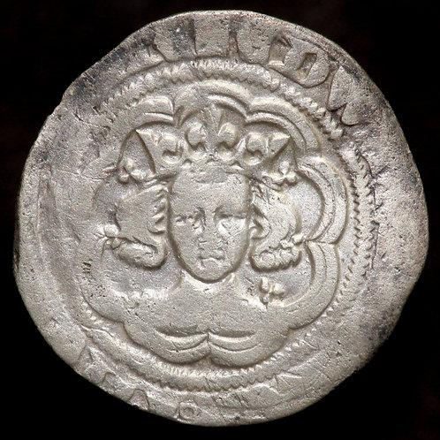 Edward III, 1327-77. Halfgroat. Pre-Treaty Period, 1351-61. Series C. London Min