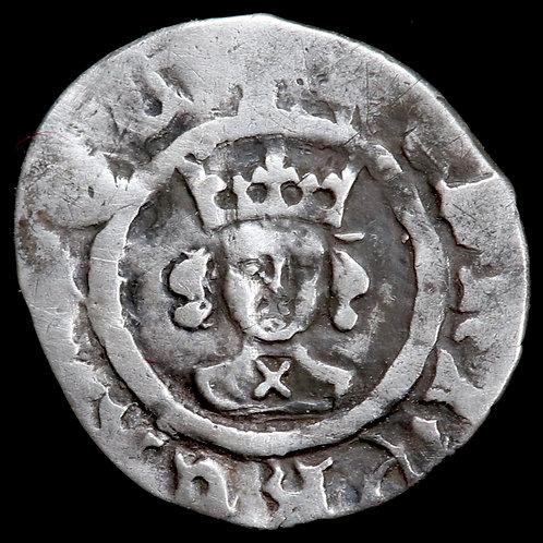 Henry VI, 1422-61. Halfpenny. Cross-Pellet Issue, 1454-61. London Mint.