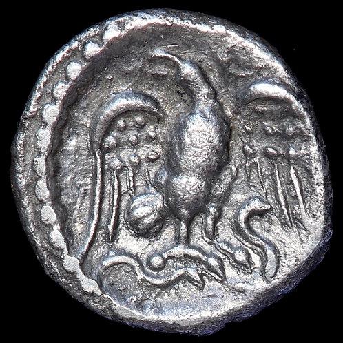Celtic Britain, Regini And Atrebates. Epaticcus. Silver Unit, c.20-40 A.D.
