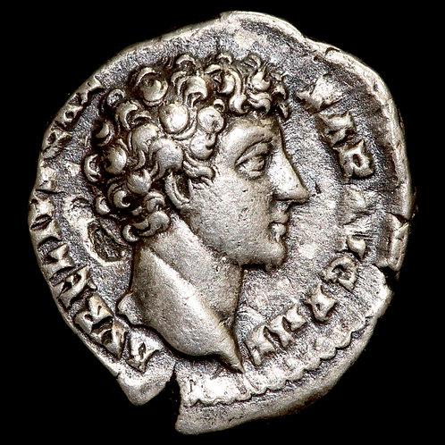 Roman Empire. Antonius Pius / Marcus Aurelius, 141-161 AD. AR Denarius.