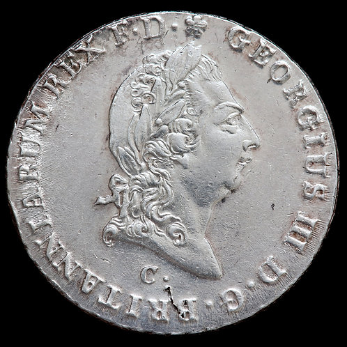 German States, Hannover. George III, 1760-1820. 2/3 Thaler, 1814.