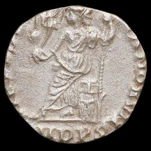 Roman Empire. Arcadius, 383-408 AD. AR Siliqua. Mediolanum (Milan) Mint.