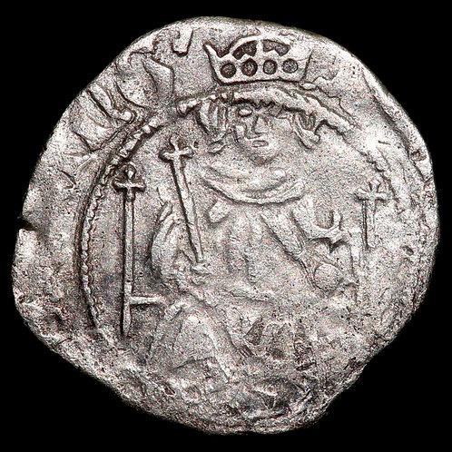 Henry VII, 1485-1509. Penny, Sovereign Type. York Min. Archbishop Rotherham.