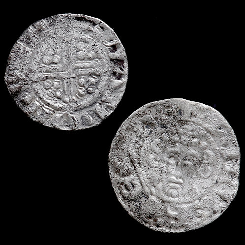 John, 1199-1216. Pennies, Norwich And Winchester Mint. (2 Coins)