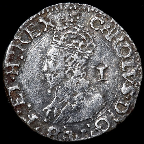 Charles I, 1625-49. Penny. Group D.