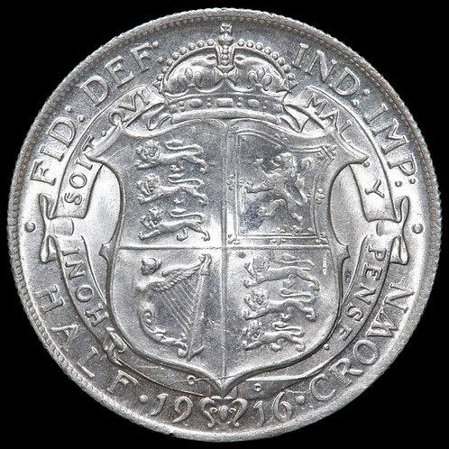 George V, 1911-36. Halfcrown, 1916.