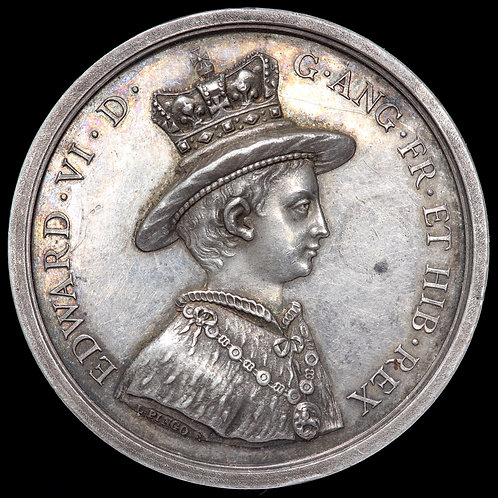 Christ's Hospital. Silver Marker's Prize Medal. By T Pingo. Presented 1886.