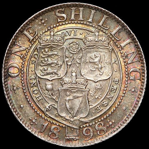 Victoria, 1837-1901. Shilling, 1898.