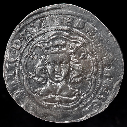 Edward III, 1327-77. Groat, Pre-Treaty Period. 4th Coinage, 1351-61. York Mint.