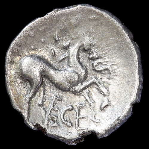Celtic, Iceni (Ece). Unit, c.25-38 A.D. Stepping Horse type.
