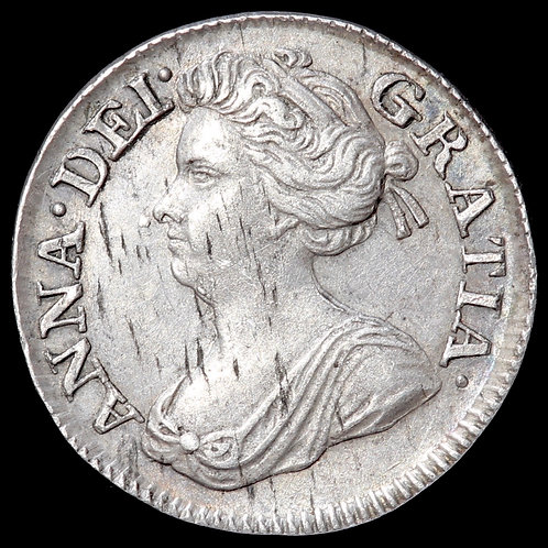 Anne, 1702-14. Maundy Threepence, 1707.