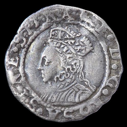 Elizabeth I, 1558-1603. Penny, mm. Martlet, 1560-61. 2nd Issue.