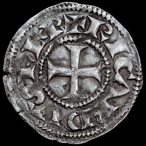 France, Poitou. Richard I (The Lionheart), c.1189-99. Denier.