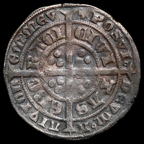 Edward III, 1327-77. Groat. Pre-Treaty Period, 1351-61. Series E. York Mint.