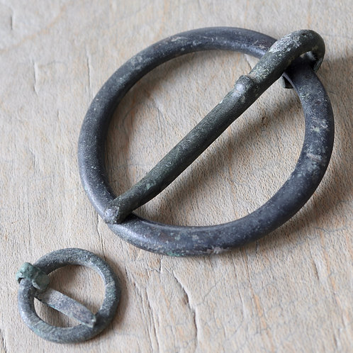 Medieval Annular Brooches, 13th-15th Century A.D.