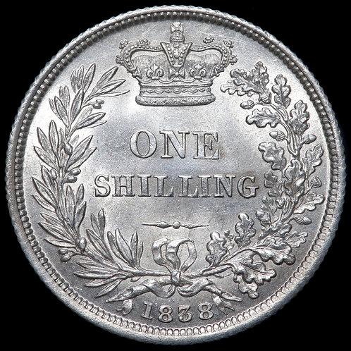 Victoria, 1837-1901. Shilling, 1838.