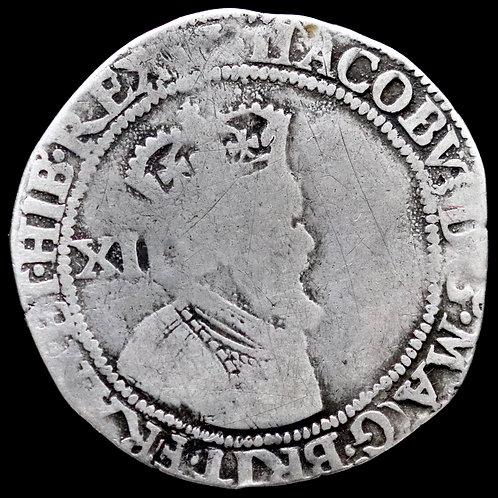 Scotland. James VI, 1567-1625 (James I Of England). Twelve Shillings.