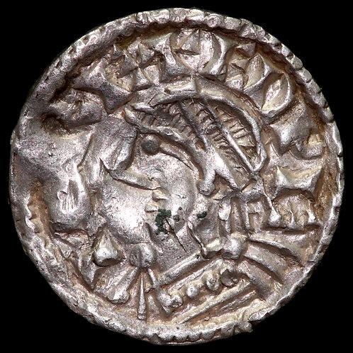 Edward The Confessor, 1042-66. Small Flan Type. London Mint. Moneyer Eadwine.
