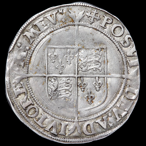 Elizabeth I, 1558-1603. Shilling, mm. Cross Crosslet, 1560-61.