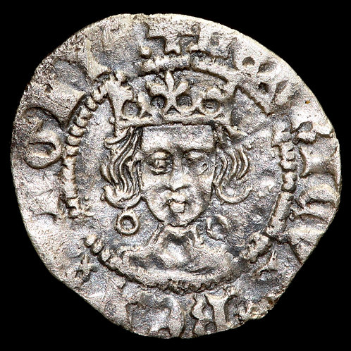 Henry VI, First Reign, 1422-61. Penny. Annulet Issue, 1422-30. Calais Mint.
