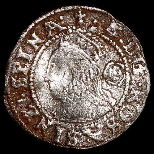 Elizabeth I, 1558-1603. Threehalfpence, 1572. Third / Fourth Issue. Tower Mint.